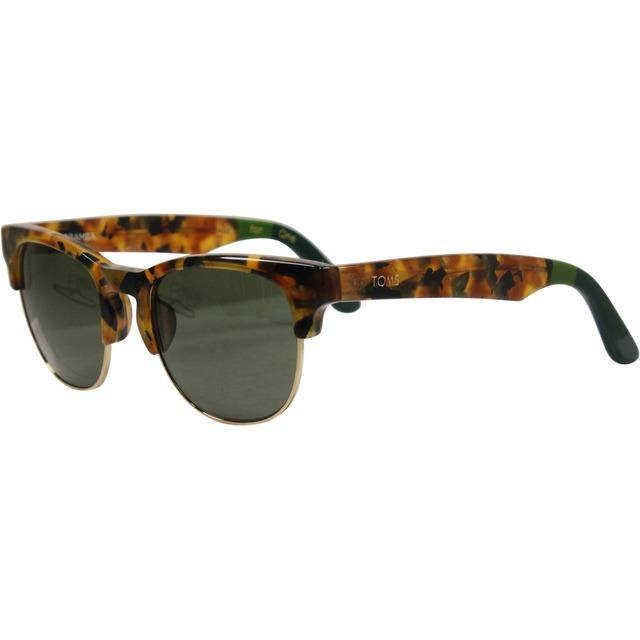 Lobamba - Panama Tortoise/ Olive Green/ Hunter Green