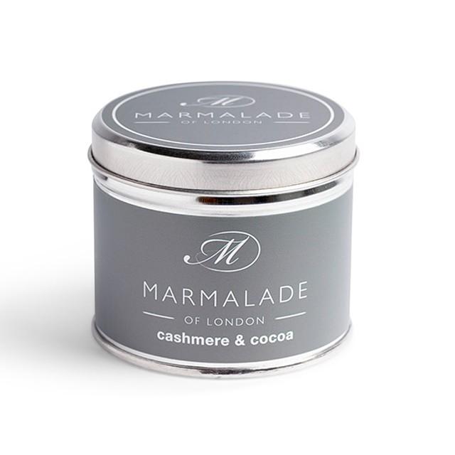 Marmalade of London Medium Tin Cashmere and Cocoa