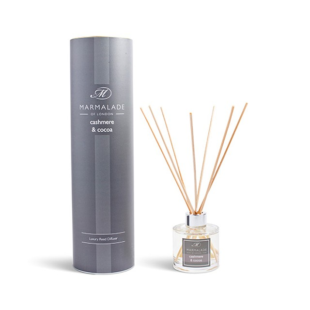 Marmalade of London Reed Diffuser Cashmere and Cocoa