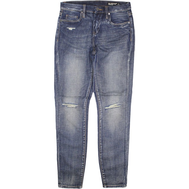 BlankNYC Mid Rise Skinny Roll Out