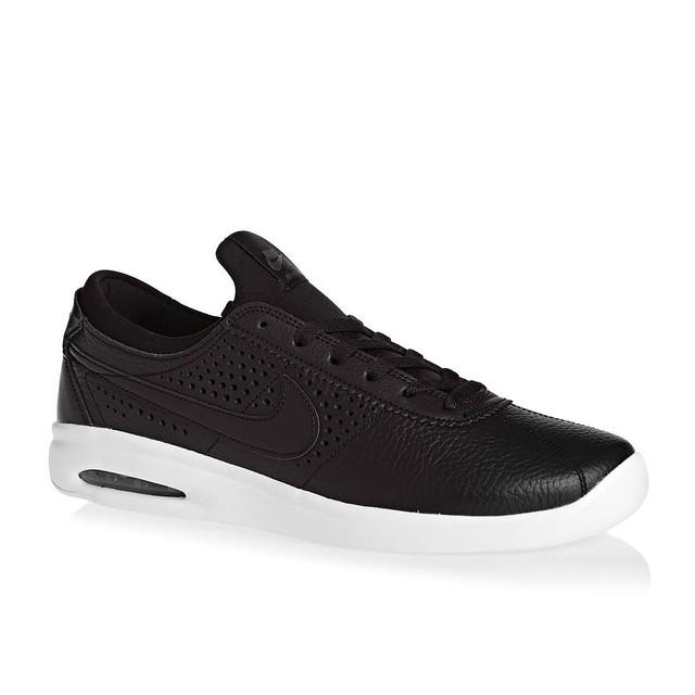 Nike Air Max Bruin Vapor Leather Black/ Black- Dark Grey