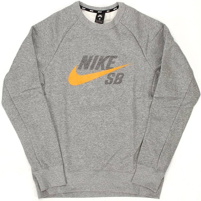 Nike Icon Dark Grey Heather/Circuit Orange