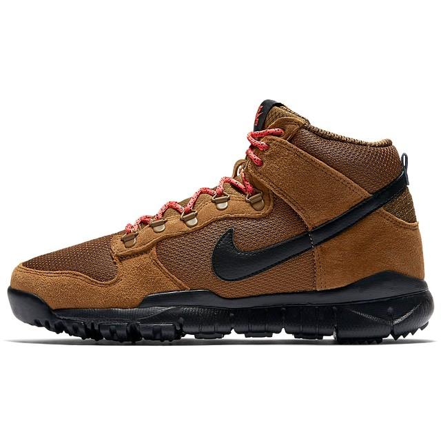 Nike SB Dunk High Military Brown/Black