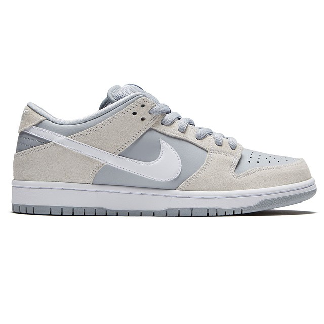 Nike SB Dunk Low TRD Summit White/White-Wolf Grey