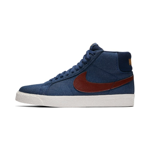 Nike SB Zoom Blazer Mid Binary Blue/ Dark Team Red
