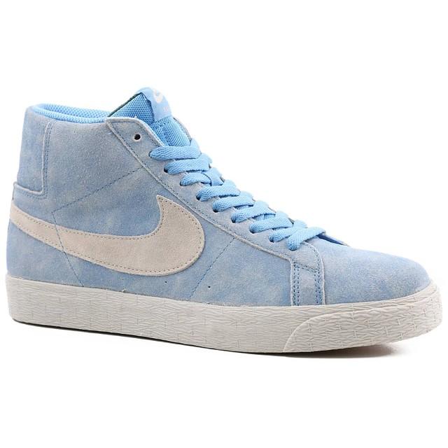 Nike SB Zoom Blazer Mid University Blue/ Bone White