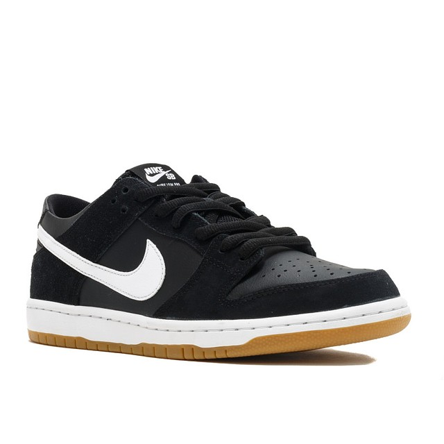 Nike Zoom Dunk Low Pro Black/White-Gum Light Brown
