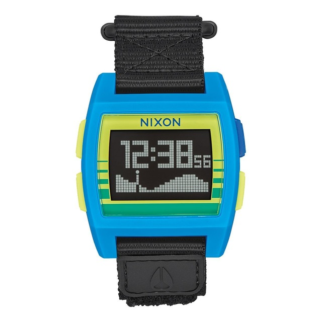 Nixon Base Tide Nylon Blue/ Yellow Fade