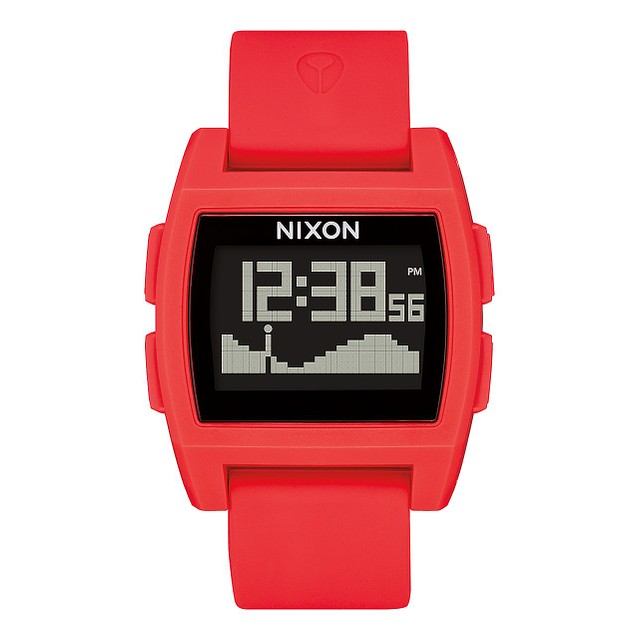 Nixon Base Tide Red