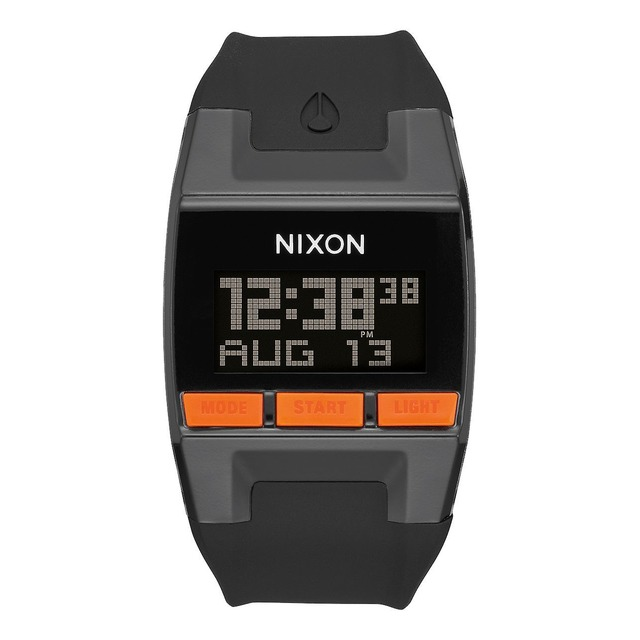 Nixon Comp Black/ Orange JJF