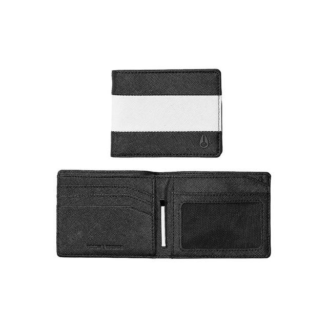 Nixon Escape Bi-Fold Clip Black/White/Black