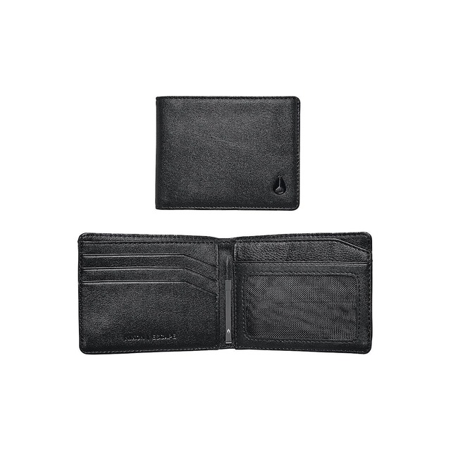 Nixon Escape Bi-Fold Clip All Black