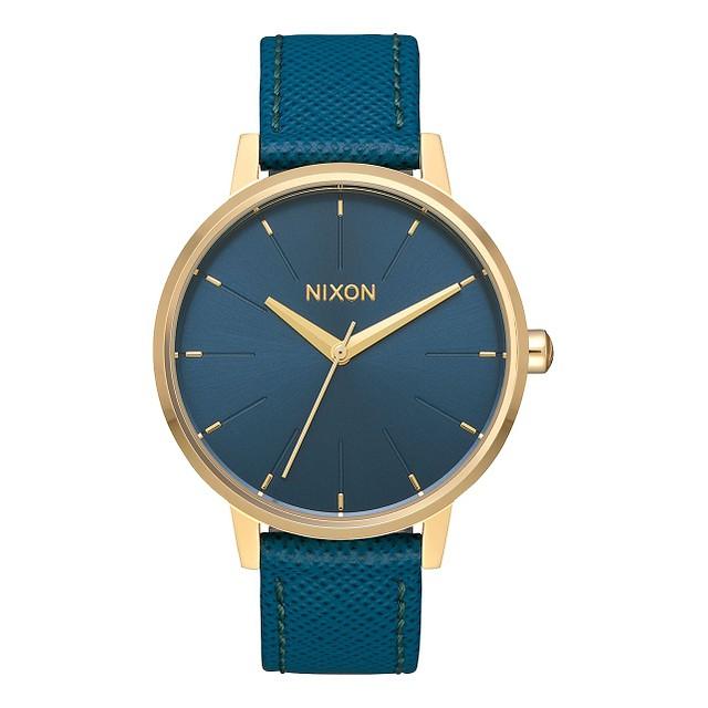 Nixon Kensington Leather Light Gold/ Mallard