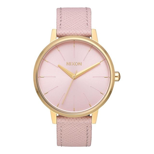 Nixon Kensington Leather Light Gold/ Pale Pink