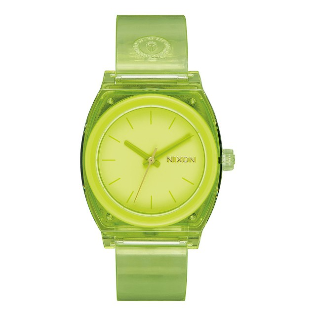 Nixon Medium Time Teller P Lime