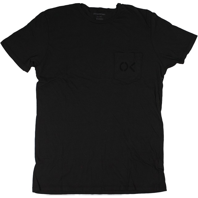 Outerknown OK Pocket Stencil Faded Black
