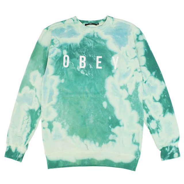 Obey Anyway Teal