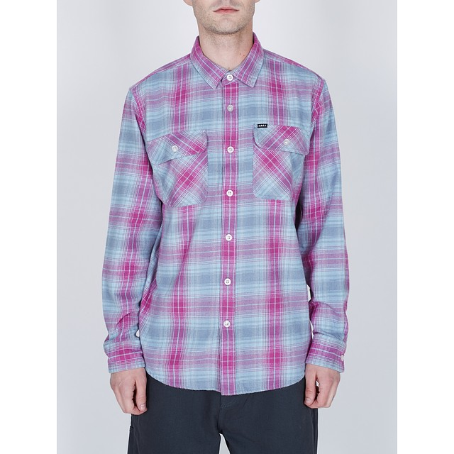 Obey Continental Woven Pink Multi