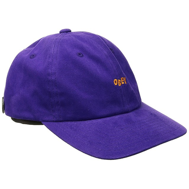 Obey Cuddy 6 Panel Purple