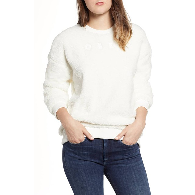 Obey Dolores Crew Cloud White