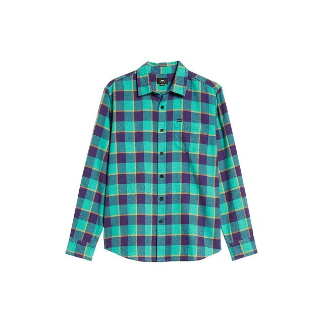 Obey Ventura Woven Teal