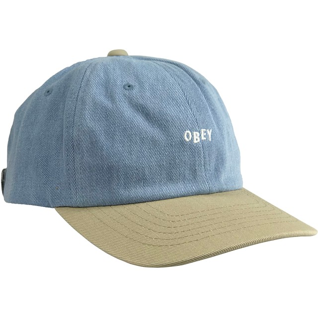 Obey Wardlow 6 Panel Khaki