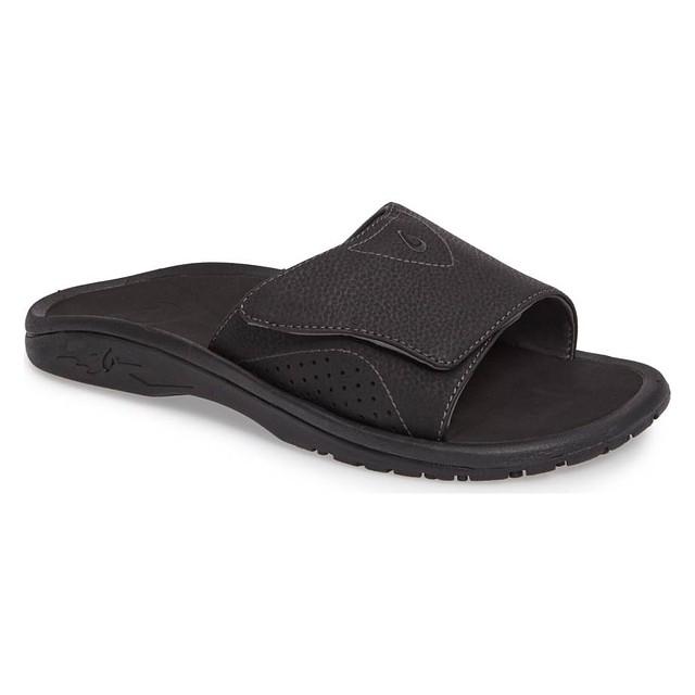 Olukai Nalu Slide Black/Black