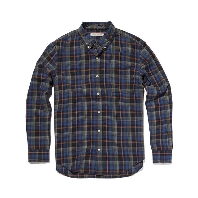 Outerknown Essential Shirt Sur Plaid
