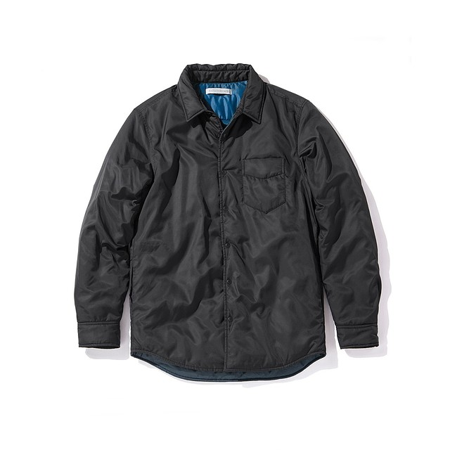Outerknown Evolution Shirt Bright Black