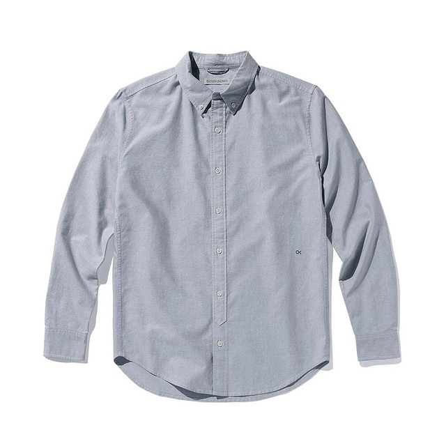 Outerknown Nomadic Oxford Oxford Blue