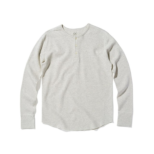 Outerknown Nomadic Thermal Chalk Heather