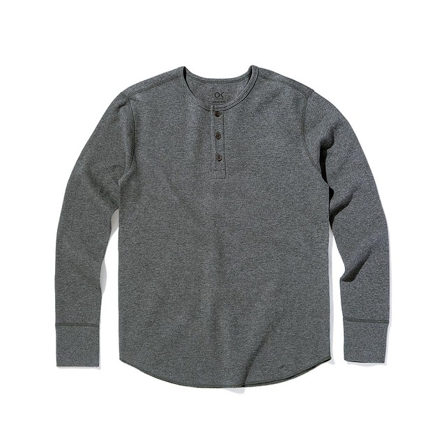 Outerknown Nomadic Thermal Heather Charcoal