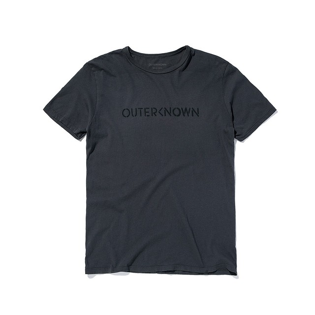 Outerknown OK Stencil Faded Black