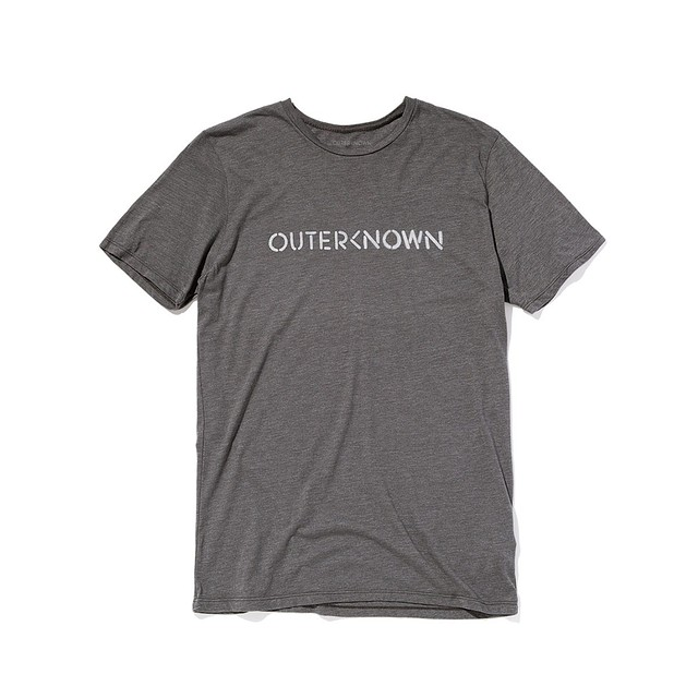 Outerknown OK Stencil Heather Carbon