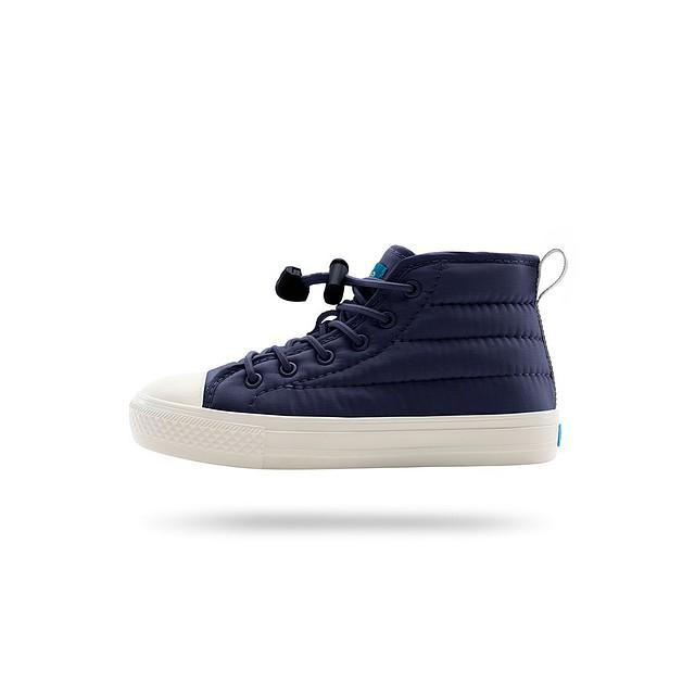 People Footwear Phillips Puffy Child Skyline Grey/ Mariner Blue