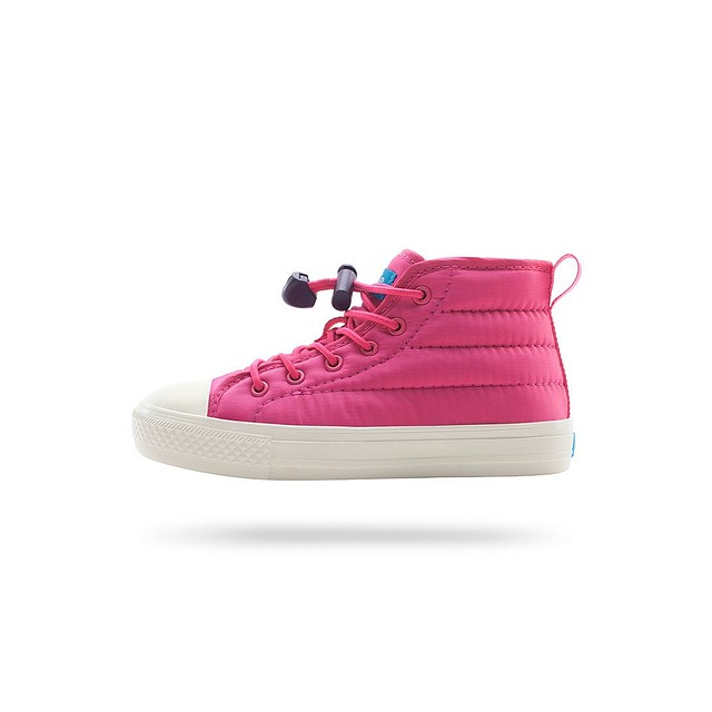 People Footwear Phillips Puffy Junior Playground Pink/ Picket White