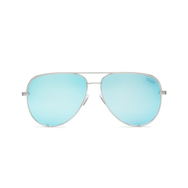 Quay Australia High Key x Desi Perkins Silver / Blue