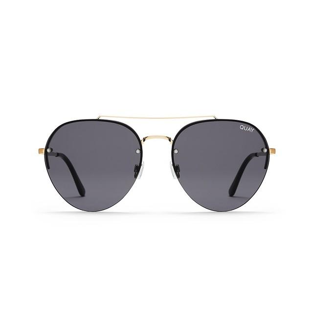Quay Sunglasses Somerset Gold / Smoke