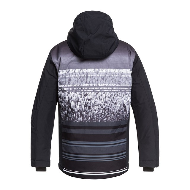 Quiksilver Mission Engineered Youth Black Alpine Youth