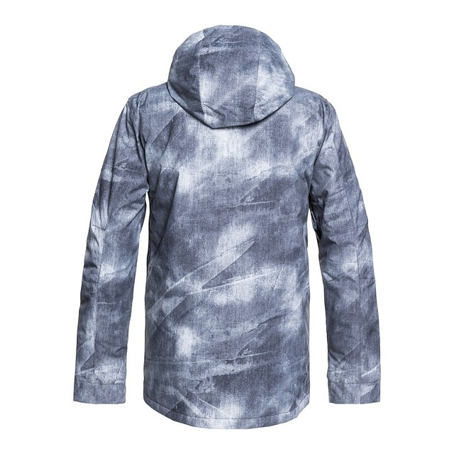Quiksilver Mission Printed Grey Simple Texture