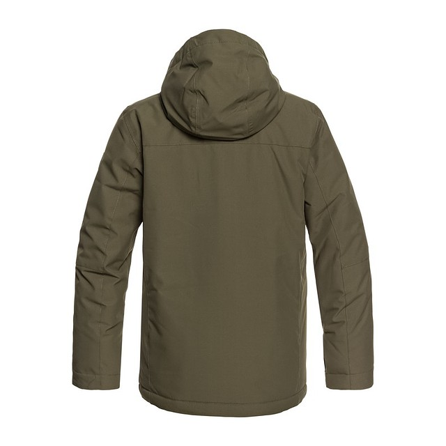 Quiksilver Mission Solid Youth Grape Leaf