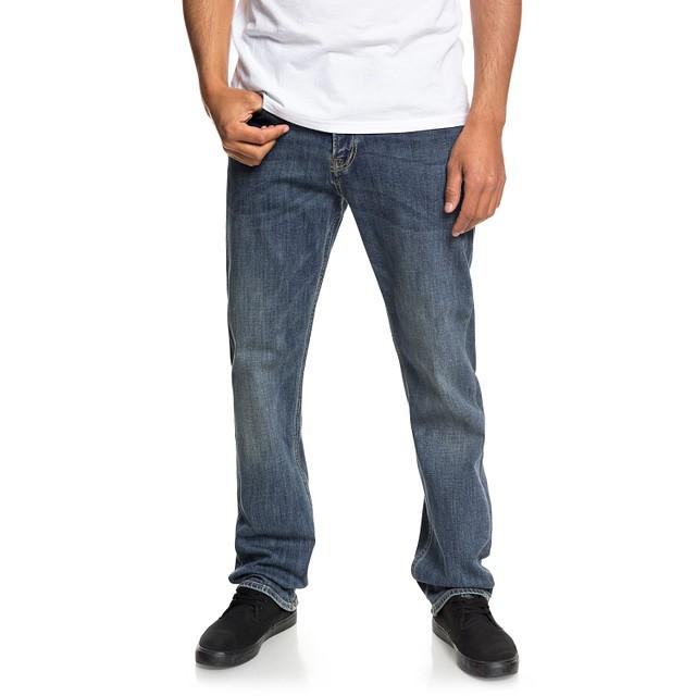 Quiksilver Sequel Regular Fit Stretch Medium Blue