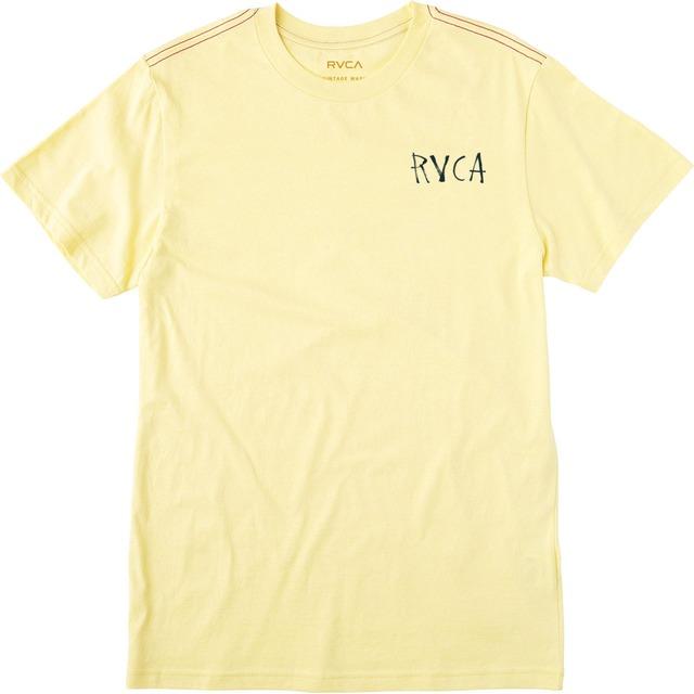 RVCA Machinery of Behavior Bright Lemon