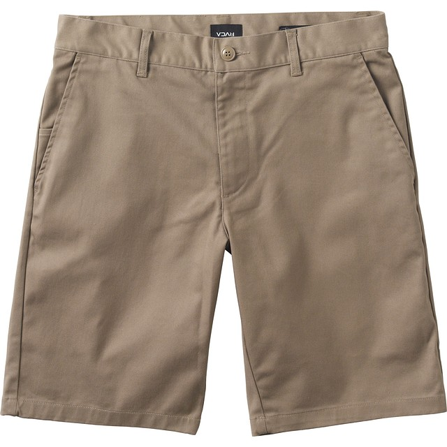 RVCA Week-End Stretch Dark Khaki