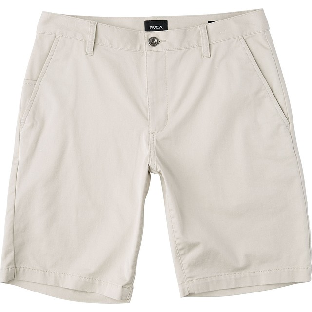 RVCA Week-End Stretch Silver Grey