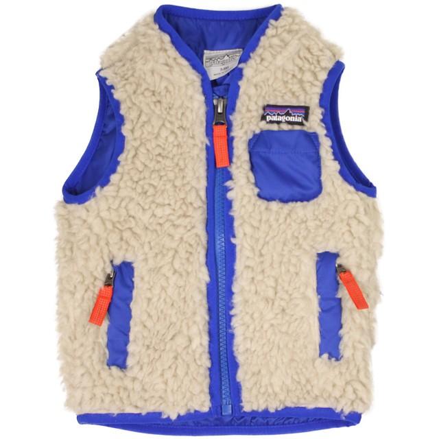 Patagonia Retro-X Vest Natural W/ Viking Blue