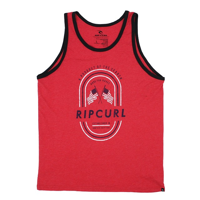 RipCurl Let It Ring Ringer Red