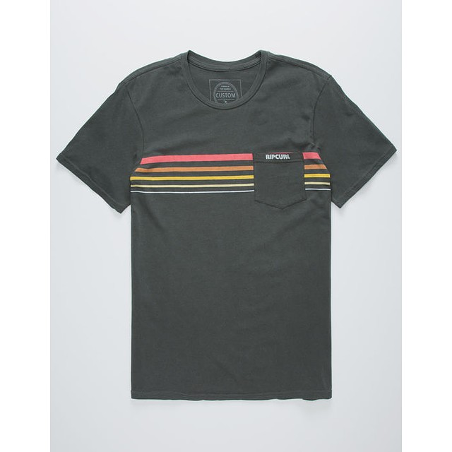 RipCurl Rubber Soul Pocket Charcoal