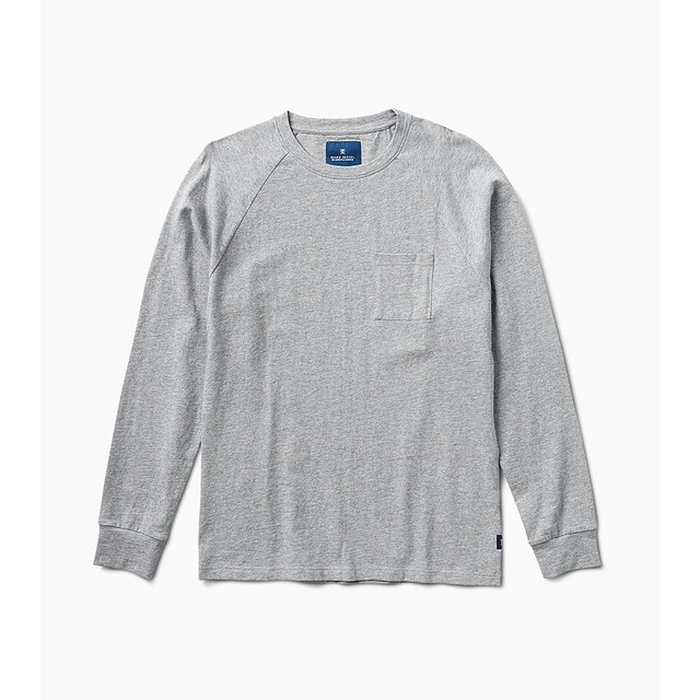 Roark Artifact Knit Grey Heather