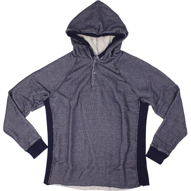 Sol Angeles Roma Hooded Henley Azulon